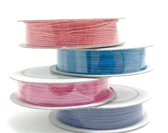 Spring craft supplies, American Crafts Premium Ribbon, Hemp spools, Easter crafts