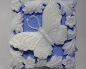 Bluebonnet Scented Butterfly Goats Milk Soap