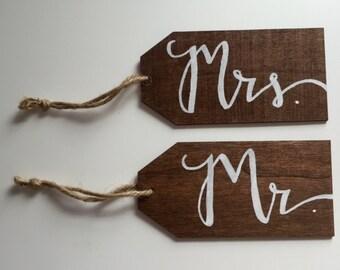 Mr. & Mrs. Tags