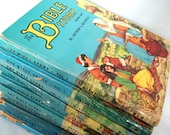 Vintage 1950's Illustrated Book Series The Bible Story Arthur S. Maxwell