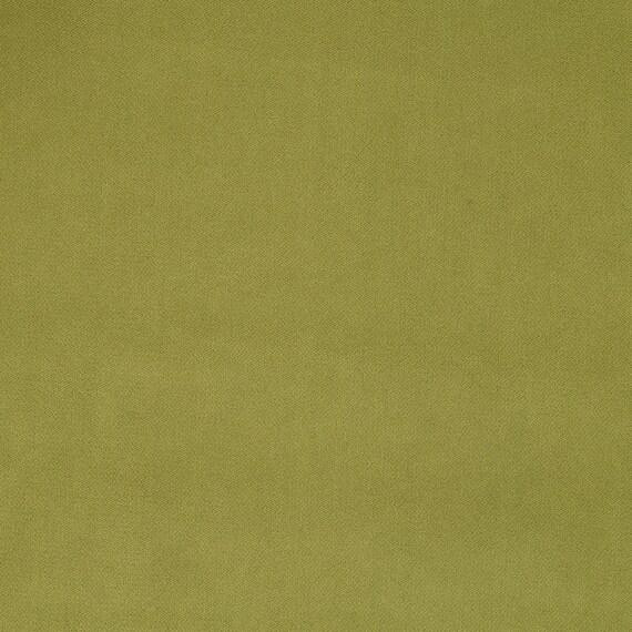 Apple Green Velvet Upholstery Fabric For Furniture Green