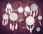 Wedding Decoration Dream Catchers - 15 piece of Dream Catchers in different sizes - Boho Decor, Tribal Wedding, Native Mobiles