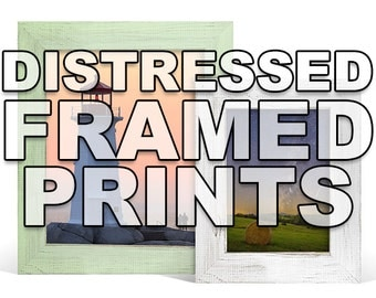 Distressed Frames - Add a Frame - Professional Framing - Dozens of Styles