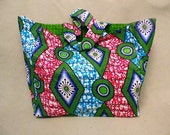 CLEARANCE SALE! Ankara Print Multi-use Tote