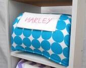 "Cubbie Nap Mat Kindergarten Preschool Daycare Pillow Rest Time Sleep Rug Blanket Toddler School Supplies Personalization 21"" x 45"" x 1"""