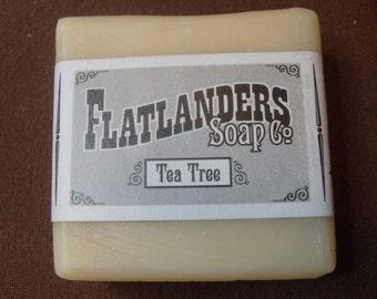 Tea Tree Handmade Soap - Medium
