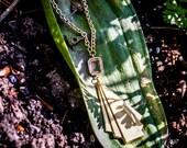 Fan of Deco Necklace