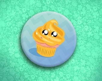 Jake Adventure Thyme Cupcake Button