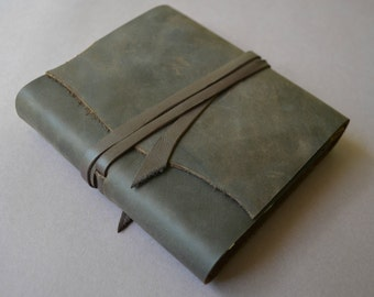Leather Journal Diary Notebook Bound Custom Handmade to Order (453B)