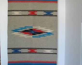 Vintage Chimayo Weaving - Chimayo Wall Hanging -