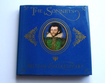 The Sonnets by William Shakespeare, printed in Spain, 1993