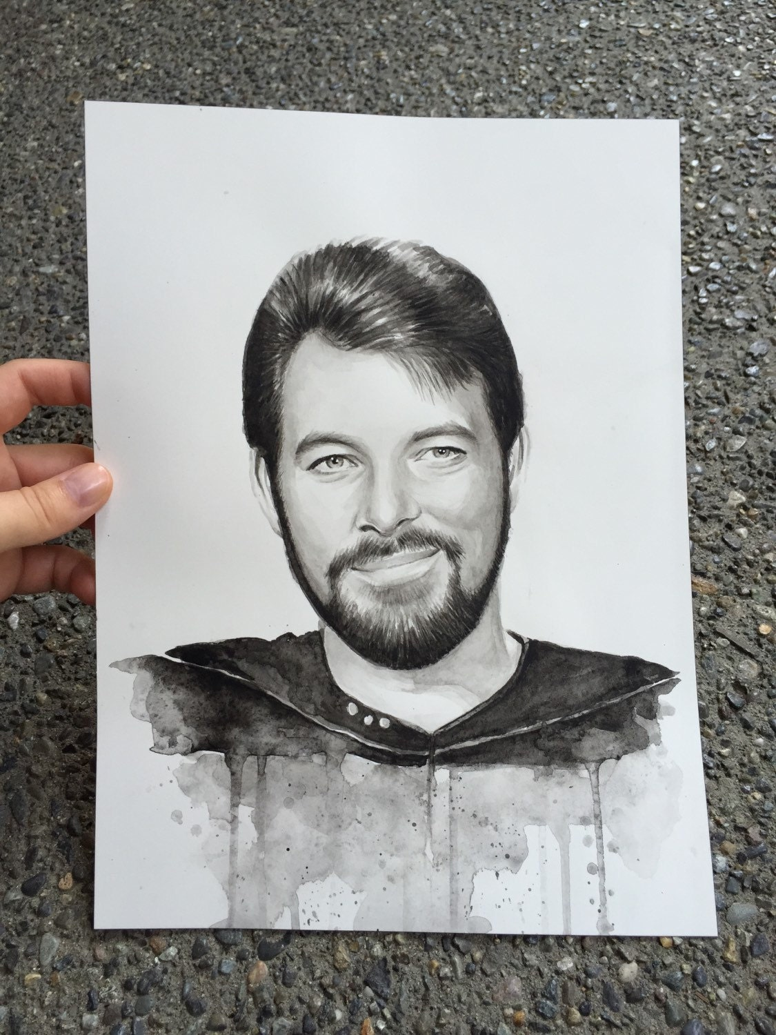 original artwork of william - photo #39