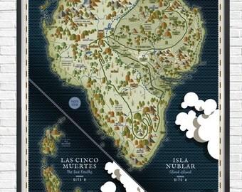 Jurassic park - Isla Nublar - - - A1 - - - Poster