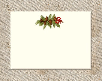Holiday Stationery - 12 Note Cards/Envelopes
