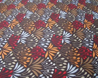Half Yard Grass in Brown, Woodwinked Collection from Dear Stella Fabrics
