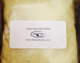 5 lbs - Fair Trade, Unrefined, Grade A, Ivory, Organic Raw Shea Butter