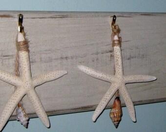 Rustic Star Fish Sign