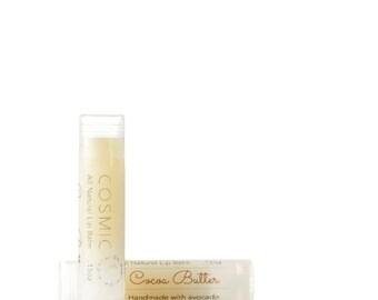 Chocolate . Cocoa Butter Lip Balm . Natural Beeswax . Sheer Lip Balm . Natural Lip Gloss . Sheen . Lip Hydration . Cocoa Bean . Gift . Cacao