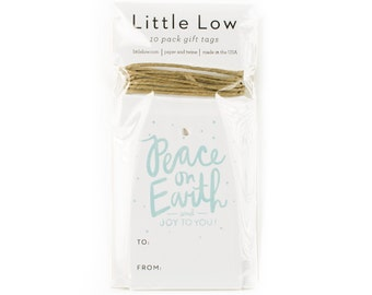 Peace on Earth Holiday Gift Tag Pack of 10