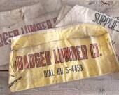 Lumber Yard Nail Apron - Yellow Badger Lumber Co.