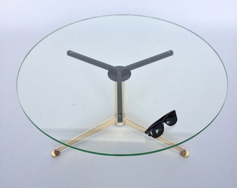 Machine Age Brass Helicopter Coffee Table