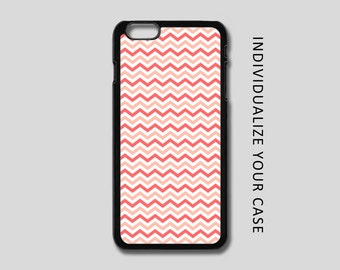 Coral Chevron iPhone Case, Zig Zag iPhone Case, Chevron Samsung Galaxy Case, iPhone 6, iPhone 5, iPhone 4, Galaxy S4, Galaxy S5, Galaxy S6