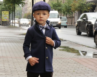 Boys coat Toddler boys blazer Boys Sweatshirt coat Boys clothes clothing Back to school