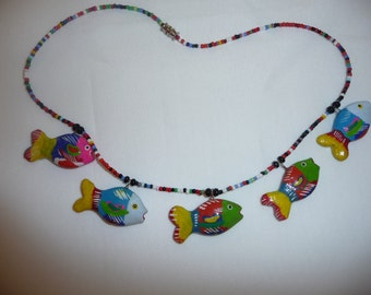 Fish neckless  *Free shipment*