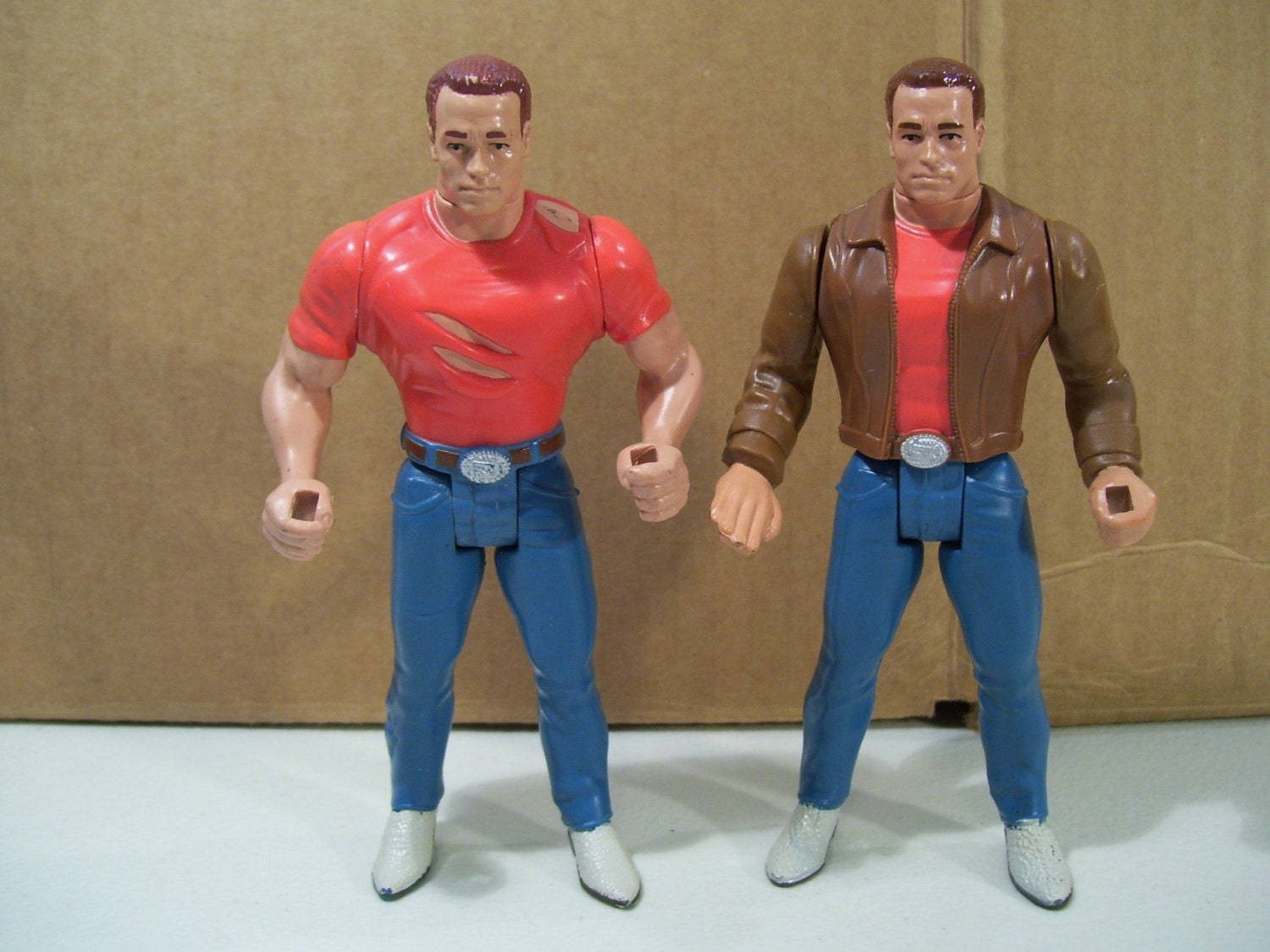 Lot of 2 Vintage Last Action Hero Jack Slater by Funllectibles
