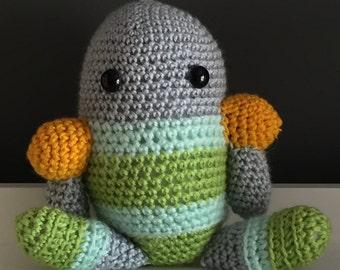 Stuffed Robot Amigurumi