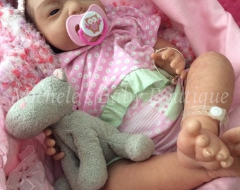 Valentine special....Sold out limited edition Baby Kaylee by linda k smith reborn by Michele Bouille