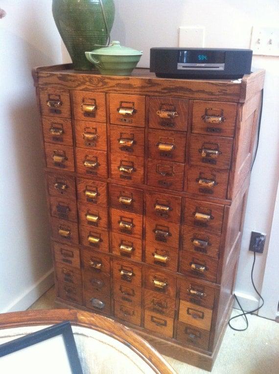 Vintage multi drawer cabinet final sale for Kitchen drawers for sale