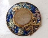 Pretty vintage hat brooch pin