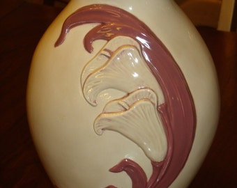 Vintage 87's Handmade Sculpted Flowers - Flower Decor - Flower Vase -Fantasy Decor