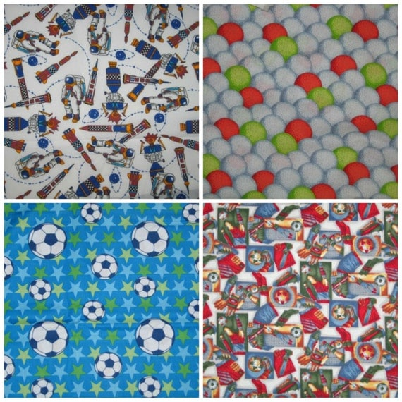 Astronaut space program sports golf balls by nwfabricboutique for Space themed fleece fabric