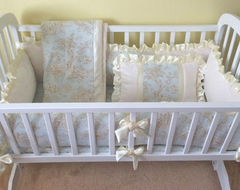 Horizon Central Park Cradle Bedding Set Custom Made-To-Order