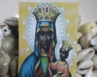Erzulie Dantor,Conjure Card,Voodoo, Hoodoo, Conjure,Paquet, Altar, Talisman, Hoodoo, Pagan, Wiccan