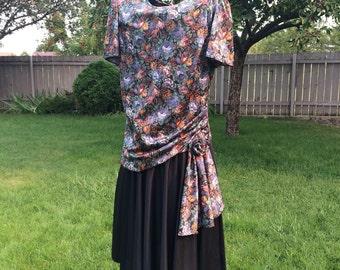 Vintage Dress Plus Size Dress