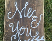 Wooden Beautiful Sign