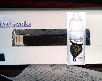 SAVE BIG while supplies last Lisa Pavelka, uv light and Magic-Glos™ - UV Resin