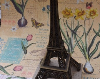 Eiffel Tower, vintage Eiffel tower, french vintage, Paris, France , shabby chic