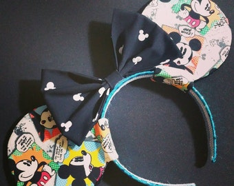 Comic Mickey Mouse Ears