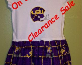 LSU Tigers Dress size 4/5 On Sale!