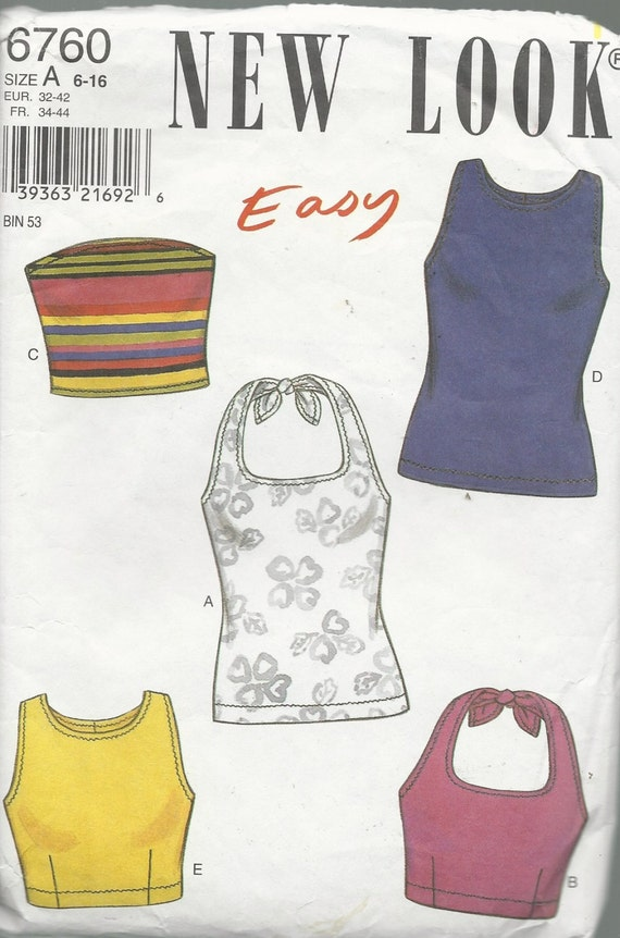 Sewing Patterns Tops Easy Sewing Pattern Misses Tops
