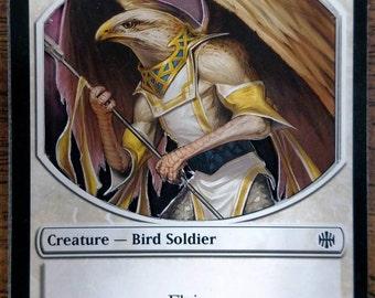 3D Magic the Gathering Bird Soldier Token