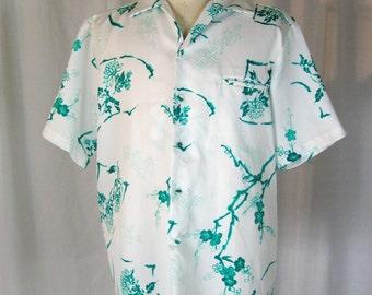 1950s Men's Hawaiian Shirt