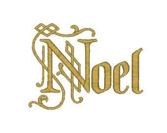 Noel Christmas Machine Embroidery Design, Christmas embroidery design, noel embroidery design, Merry Christmas embroidery, sayings