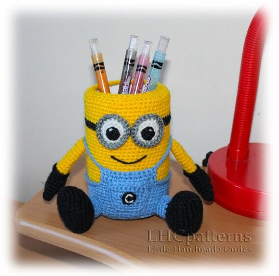 MINION Pencil Holder Pattern