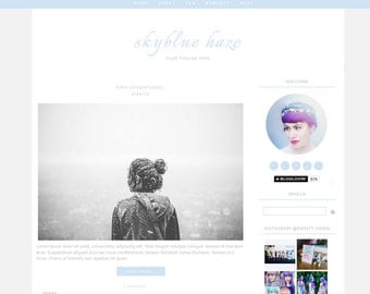 Blogger Template Premade Blogger Templates Simple Blogger Layout