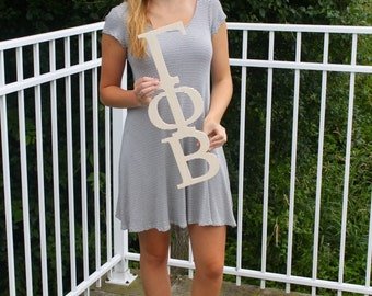 Gamma Phi Beta Paintable Wooden Letters